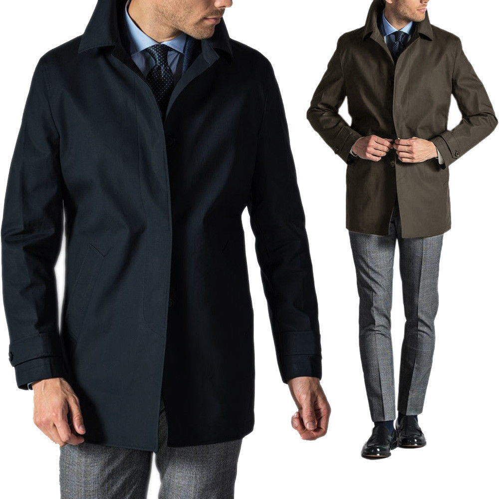 5100a22ab6 Impermeabile Trench Uomo Sartoriale Made in Italy